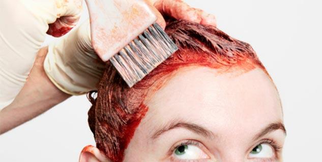 دکلره کردن ساقه و ریشه مو ها