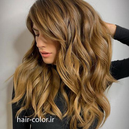 رنگ مو بلوند روشن ، رنگ مو بلوند تیره ، رنگ مو پرستیژ