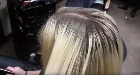 به پایه رساندن رنگ مو بدون دکلره